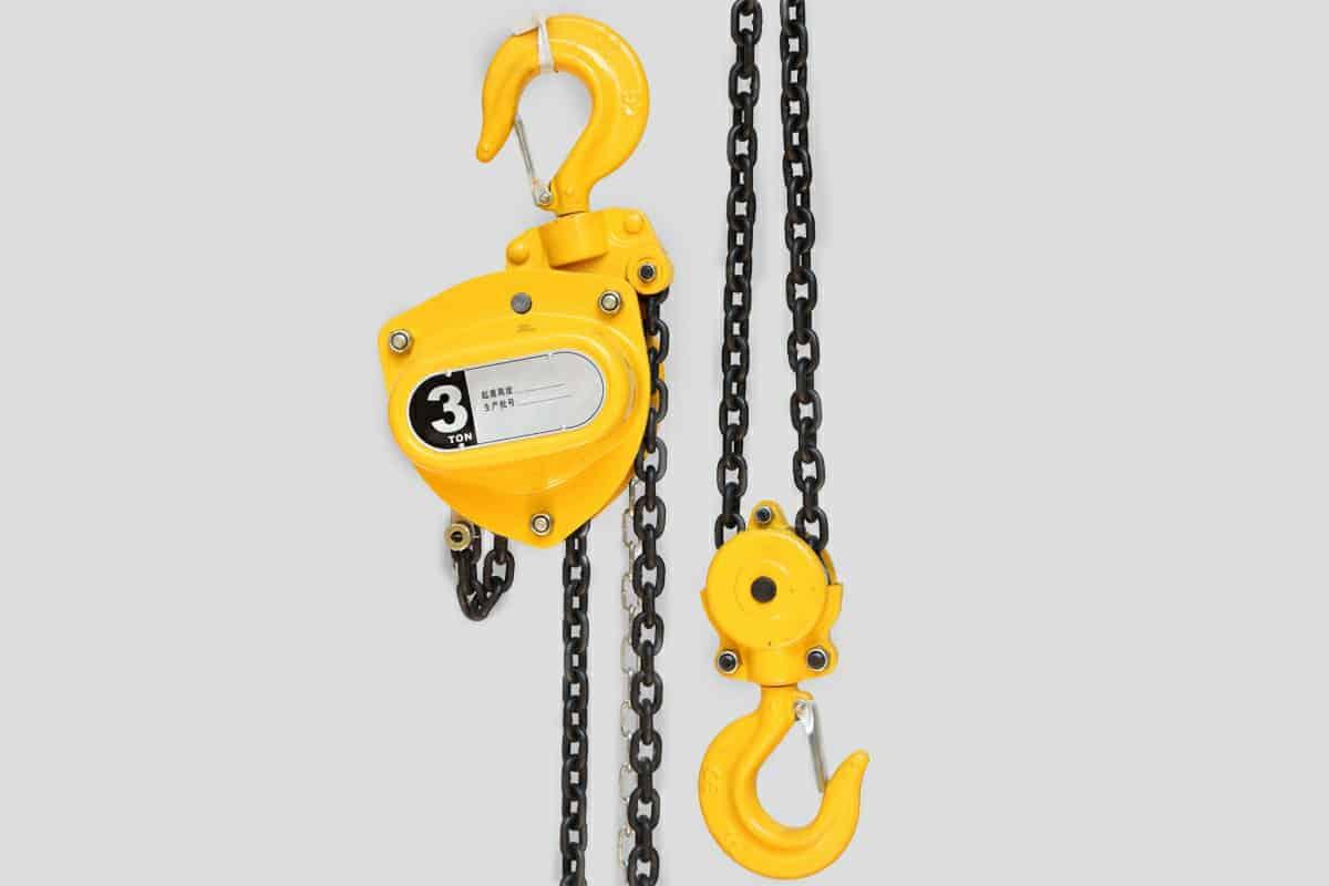 Chain Block Manufacturer, Supplier, Exporter In China - DFHOIST