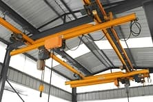 KBK single girder suspension cranes