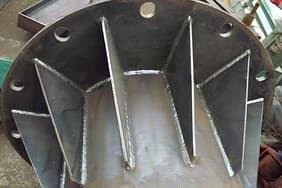 Welding: CO gas shielded arc welding and submerged arc welding less welding slag and high strength