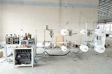 N protective mask machine